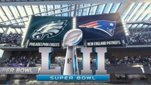 Super Bowl et pub TV