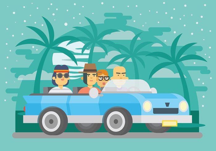 carpool-vector-background-1