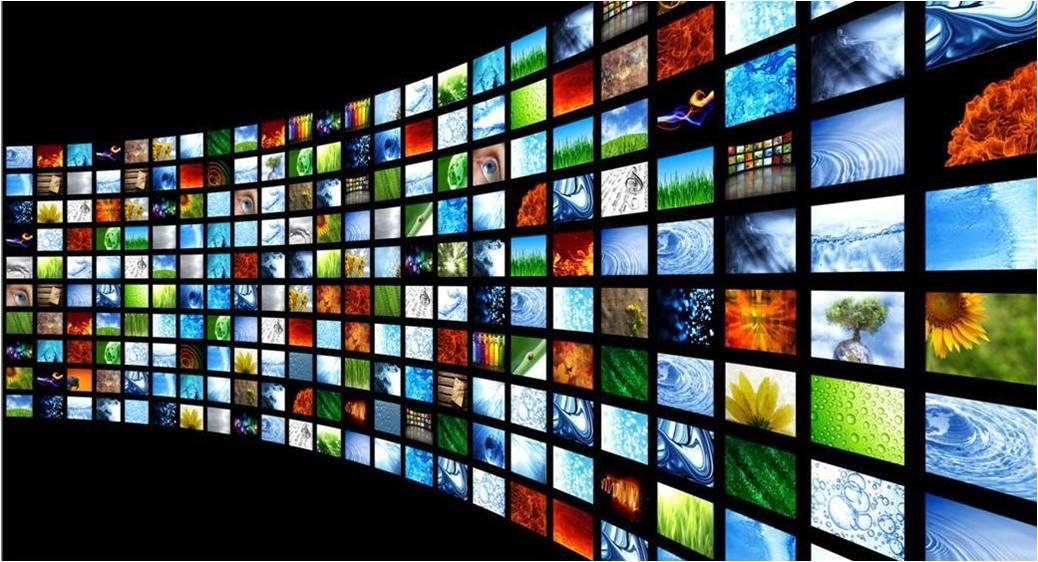 multi-screen wall